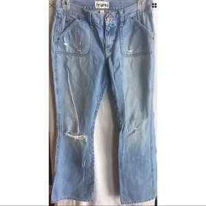 Abercrombie & Fitch Women Distressed Jeans Size 10